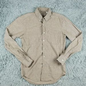 Naked and Famous Long Sleeve Button Down Shirt